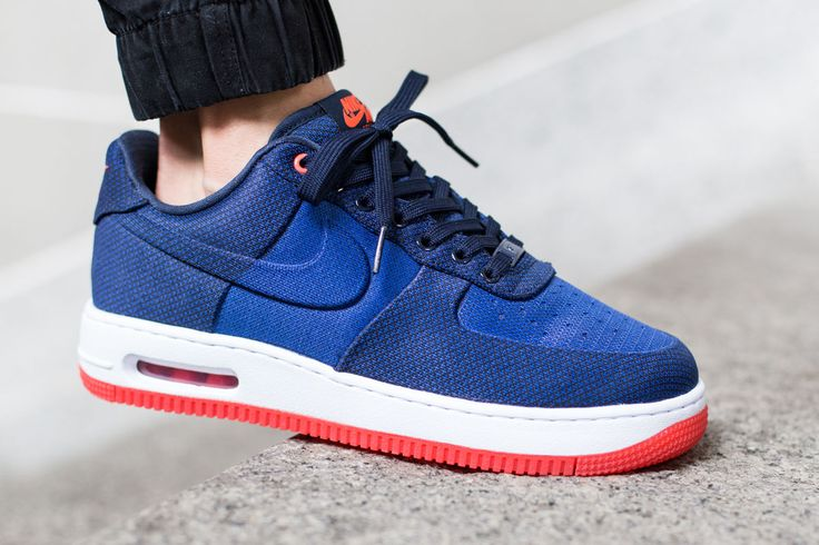 "Nike Air Force 1 Elite Knit Jacquard VT ""Game Royal/Bright Crimson"""