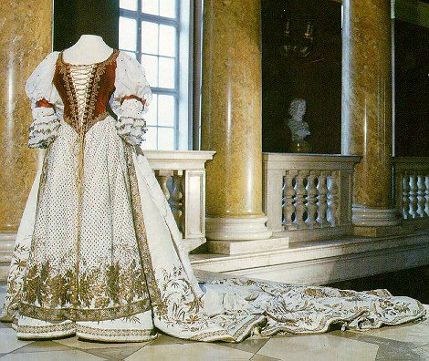 Hungarian wedding dress.
