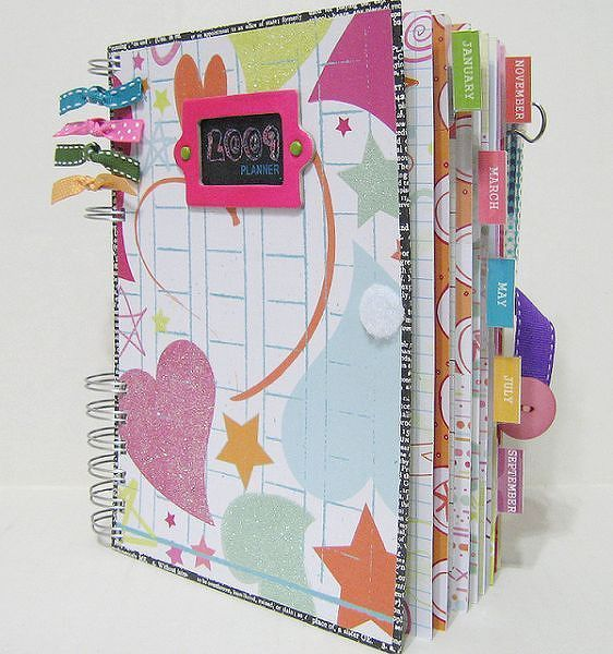 2009 ScrapBook Planner - Two Peas in a Bucket