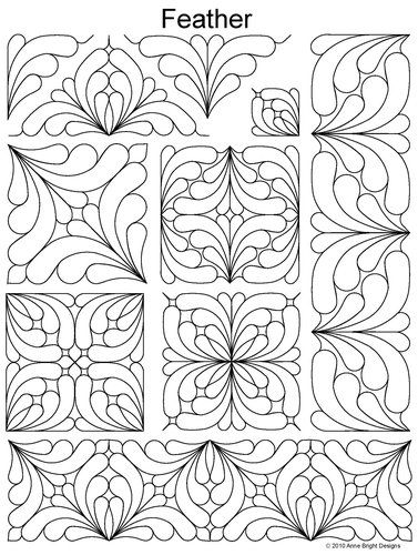 157 best quilting pantographs images on Pinterest Drawings, Stamping and Draw