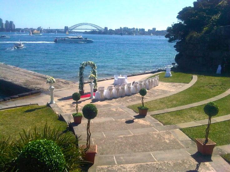 Bradleys Head Amphitheatre, Mosman  Photo by Lillian Lyon Marriage Celebrant www.lyonheart.com.au
