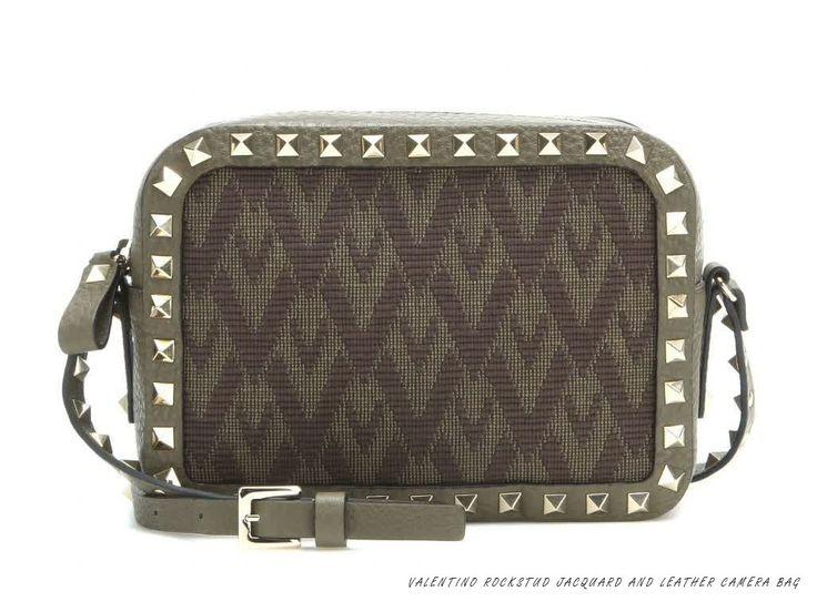 Valentino New Viva Valentino Logo Jacquard Bags - Ikifashion
