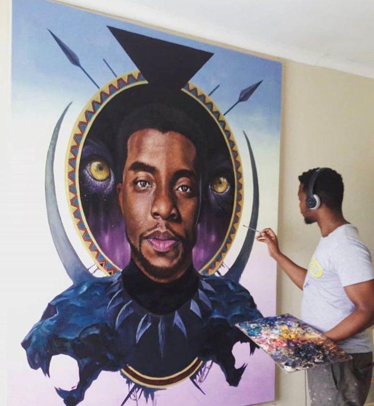 The King is here. #WakandaForever #BlackPanther (: @loyisomkize)