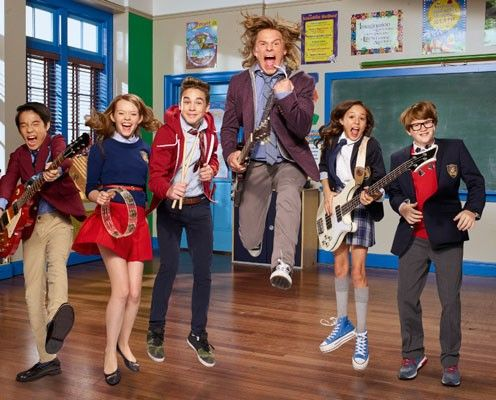 First video arrives from Nickelodeon's School of Rock.