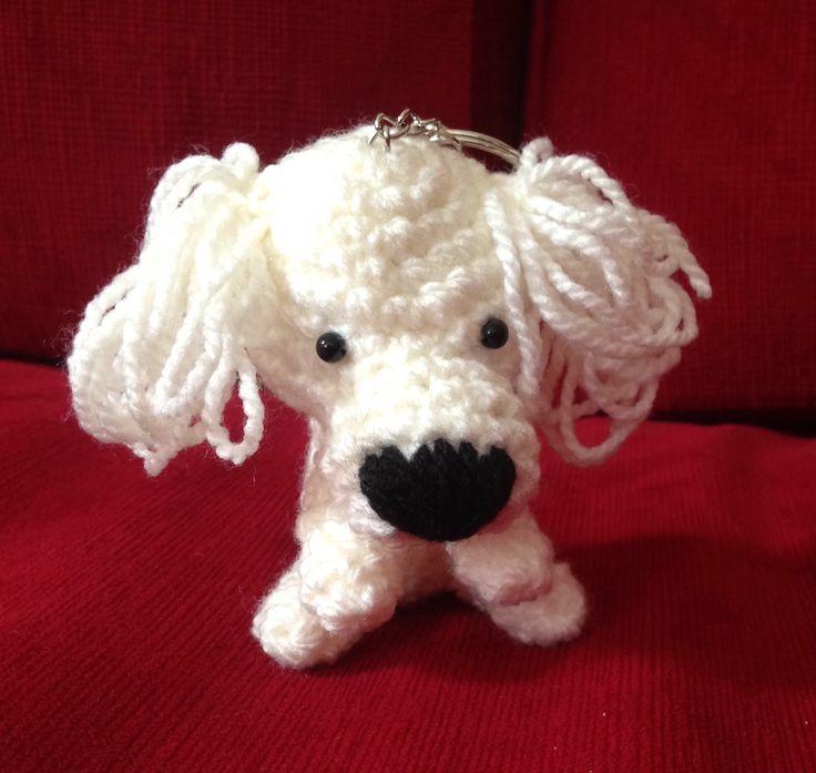 Llavero perrito poodle