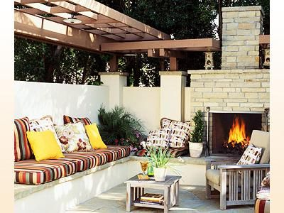 21 best outdoor living images on pinterest decks for Outside renovation ideas