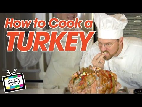 How to Cook a Turkey - Kid Snippets - YouTube