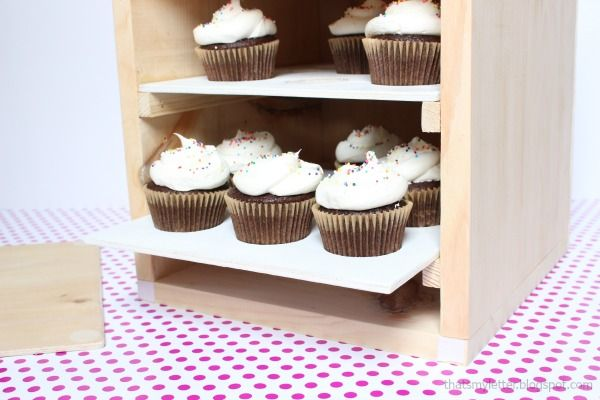 """That's My Letter: """"C"""" is for Cupcake Carrier (large)"""