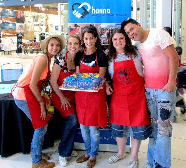 Hanna Charity & Empowerment Foundation at the Grove Mall.