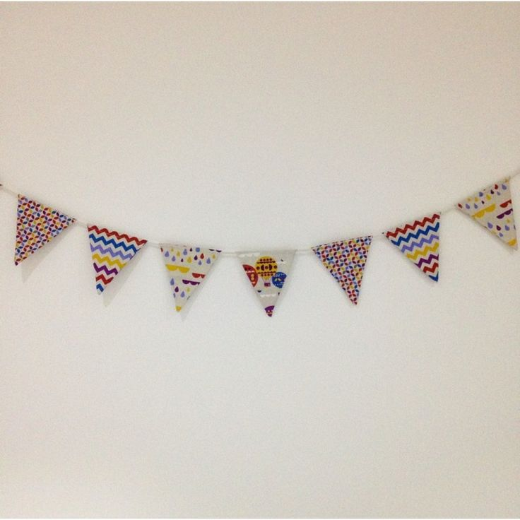 Unisex 'Up In The Air' Bunting.. We just love this neutral design