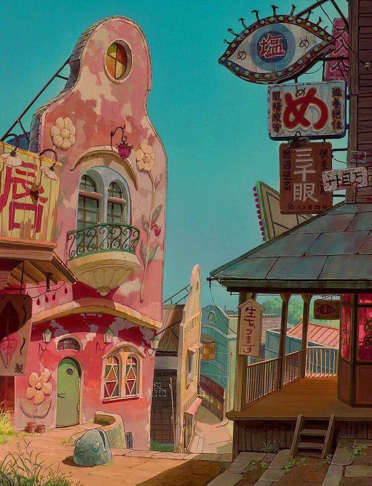 宮崎駿」おしゃれまとめの人気アイデア Pinterest Lana Charron【2020】 レトロ 背景