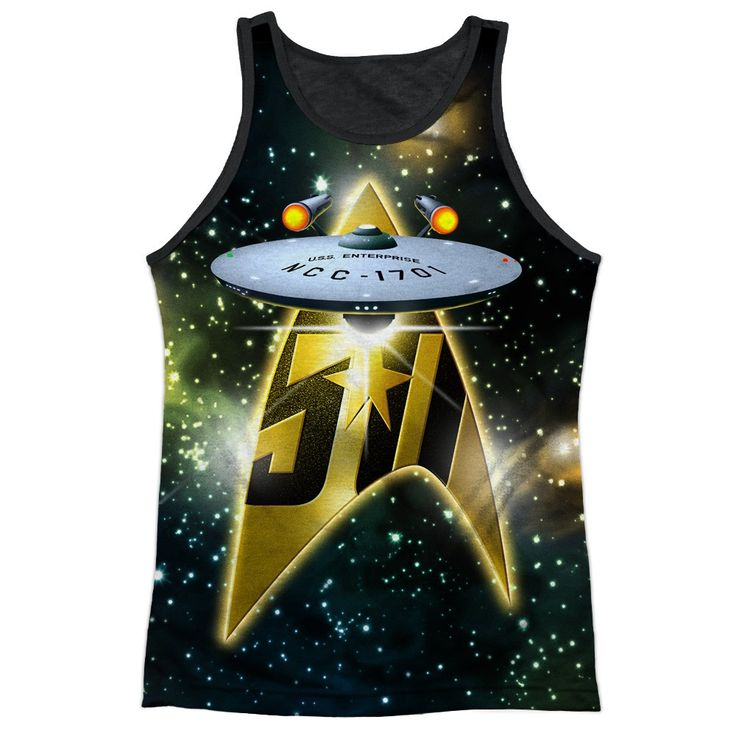"Checkout our #LicensedGear products FREE SHIPPING + 10% OFF Coupon Code ""Official"" Star Trek/50th Ship-adult Poly Tank Top T- Shirt - Star Trek/50th Ship-adult Poly Tank Top T- Shirt - Price: $24.99. Buy now at https://officiallylicensedgear.com/star-trek-50th-ship-adult-poly-tank-top-shirt-licensed"