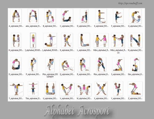 L'acrosport alfabet