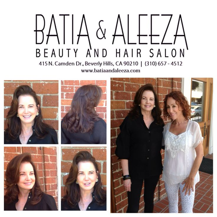 """With the gorgeous and charming Patricia Altschul at #batiaandaleezahairsalon for a day of beauty! Can't wait to see you in Bravo's Reality Show """"Southern Charm"""" Season 2!!!!"""