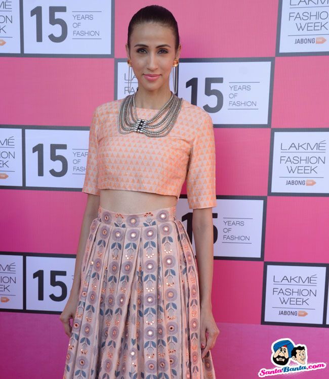 Lakme Fashion Week 2015 Press Conference -- Alicia Raut Picture # 299080