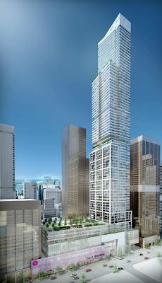 Holt Renfrew Tower to become the tallest condo in Yorkville. Other tall projects on the way include 37 Yorkville