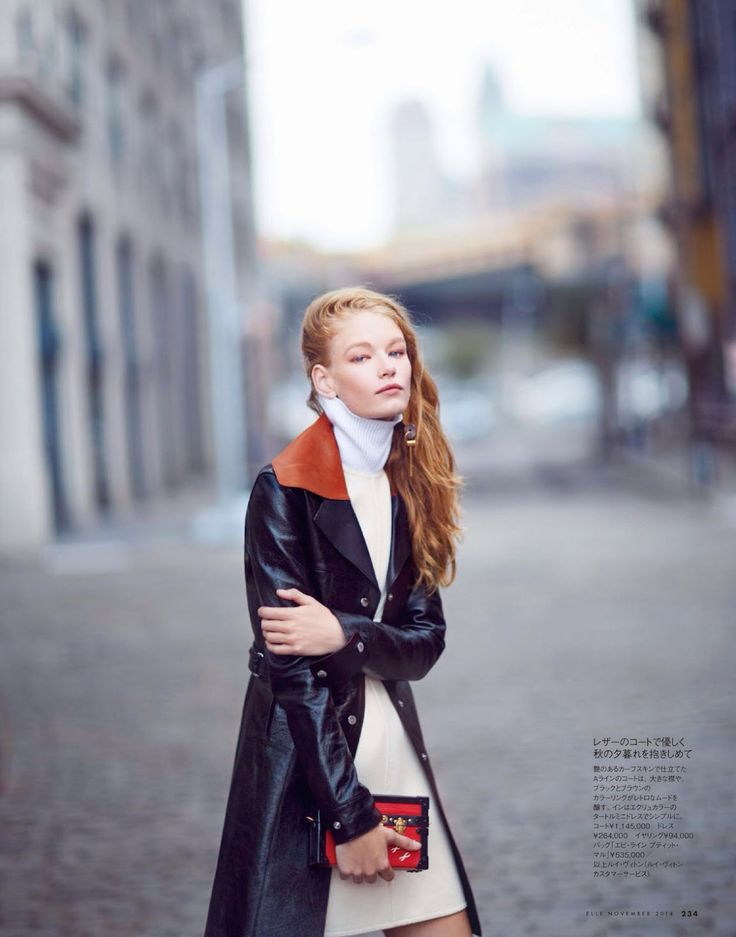 visual optimism; fashion editorials, shows, campaigns & more!: my wandering days: hollie may saker by billy kidd for elle japan november 2014