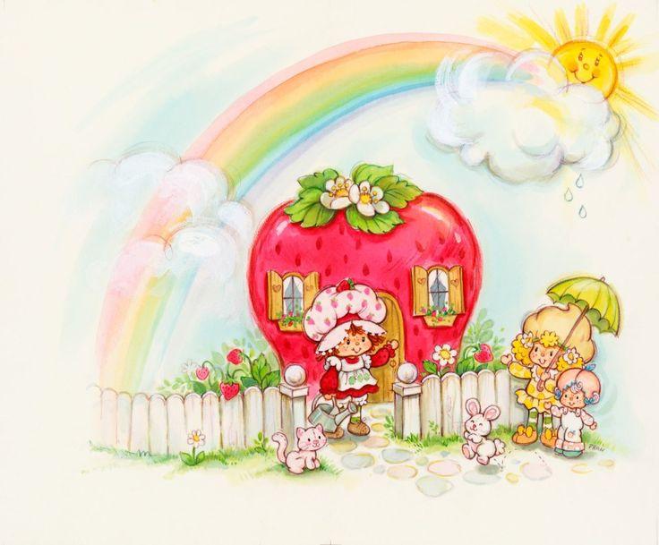 1980s Strawberry Shortcake