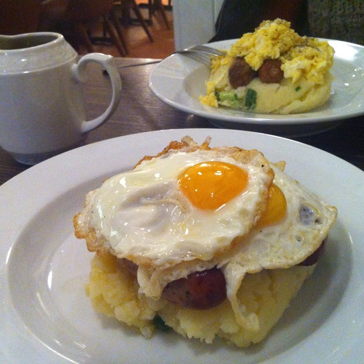 The best breakfast/brunch/lunch/dinner... any time this dish is simply great. Sausages with mash and gravy and two eggs on top. From Mums... No other words, lucky  Edinburghians!