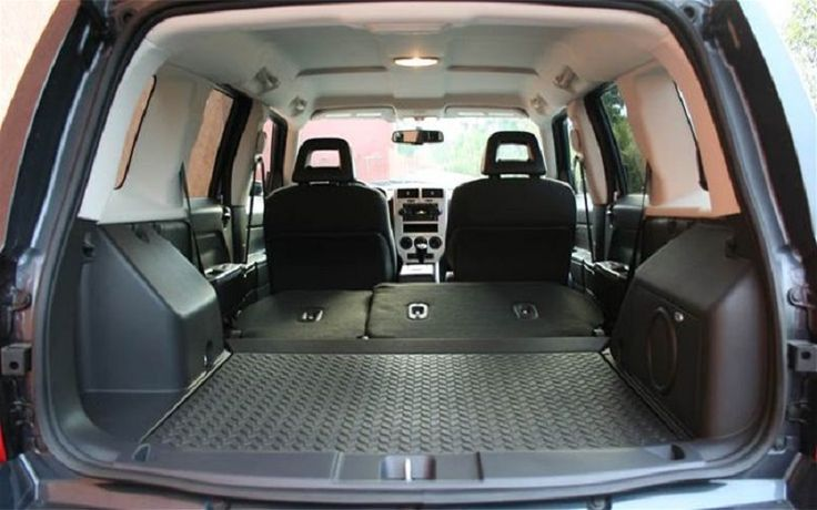 Jeep Patriot Rear Interior That Trunk Space My Jeep