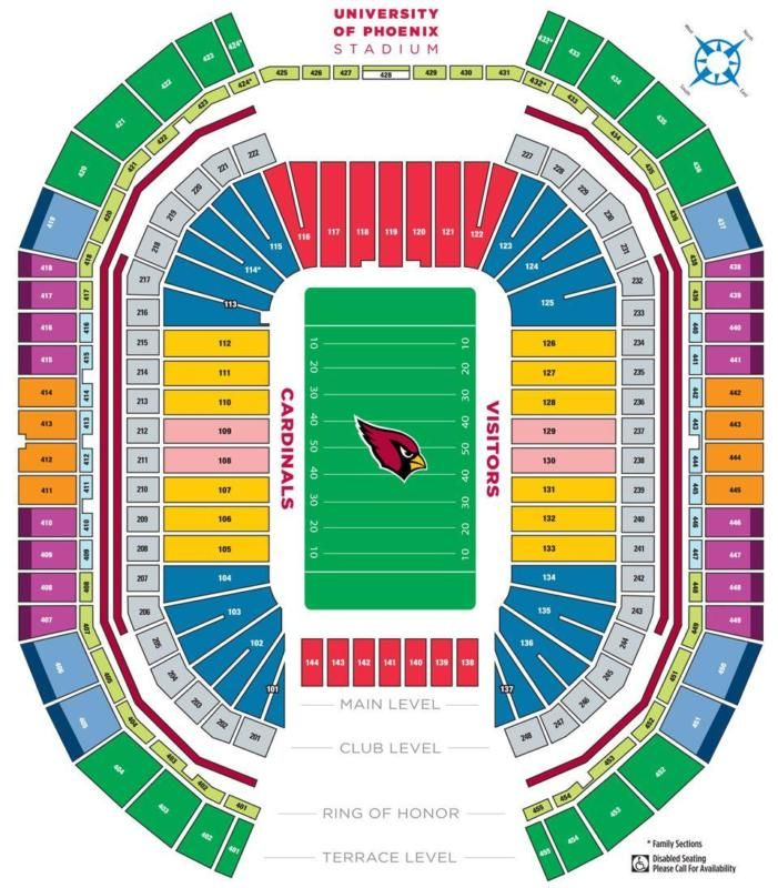 <MONDAY NIGHT FOOTBALL <DALLAS COWBOYS VS. ARIZONA CARDINALS University of Phoenix Stadium Glendale, AZ Date: September 25, 2017 Time: 5:30 PM LOWER L... #tickets #cardinals #arizona #cowboys #dallas