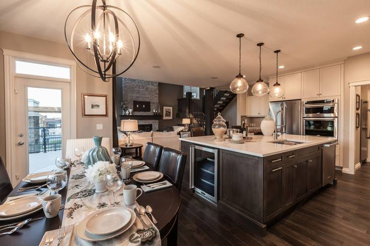118 Aspen Summit Dr. SW, Calgary AB. #Kitchen