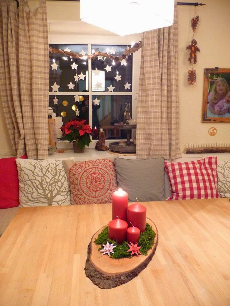 Die besten 25 weihnachten wohnzimmer ideen auf pinterest - Weihnachten wohnzimmer ...