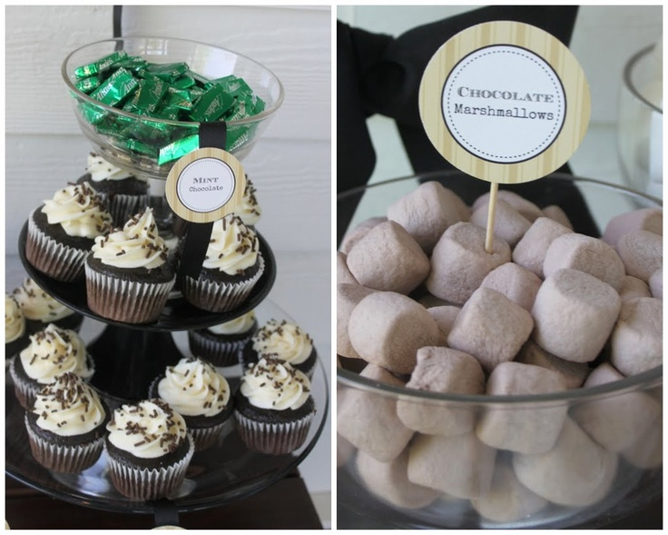 Mirabelle Creations: Guinness Cupcakes & Chocolate Marshmallows
