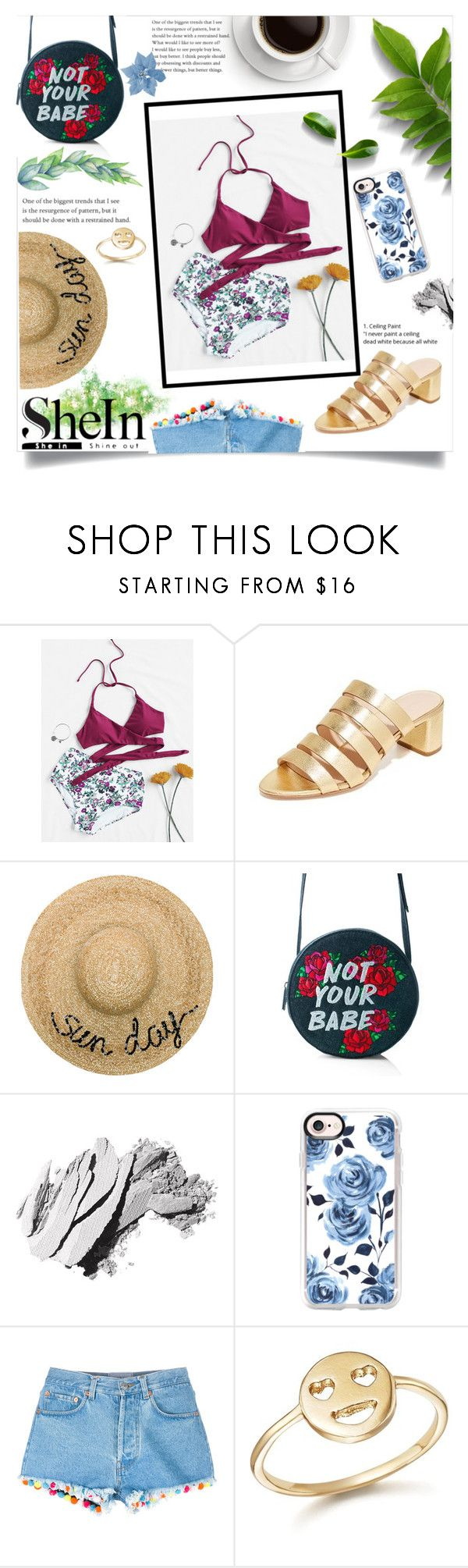 """WIN SHEIN $30 COUPON"" by emmaarnfred on Polyvore featuring Loeffler Randall, Eugenia Kim, Skinnydip, Bobbi Brown Cosmetics, Casetify, Forte Forte and Bing Bang"