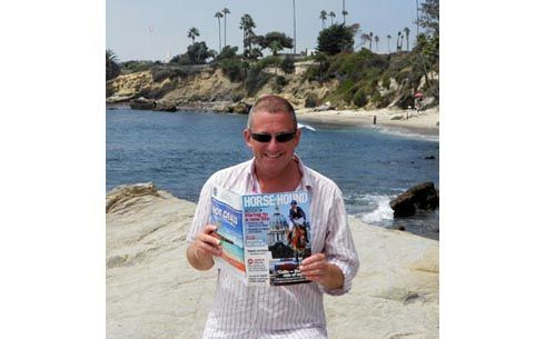 Simon Hare on Laguna Beach, California
