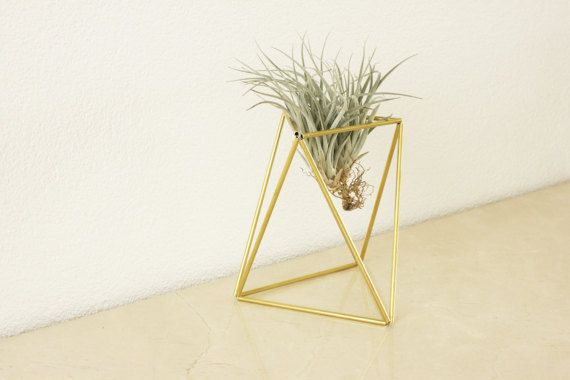 Himmeli TABLE: Geometric table planter Air plant Indoor door KESKOS