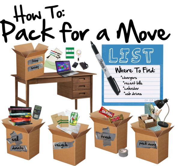 Home Sweet Apt: How To: Pack for a Move