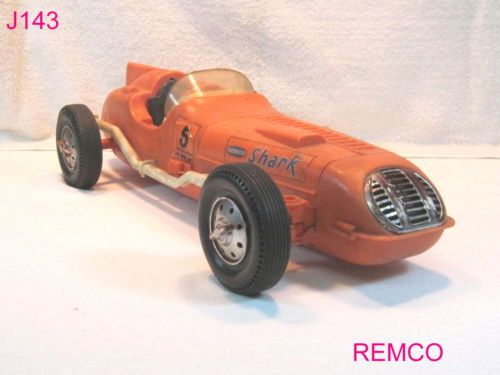 Remco Shark Battery Operated Tether Race Car