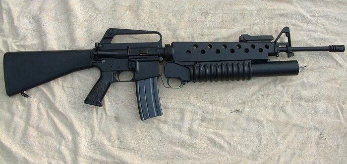 M203 grenade la...