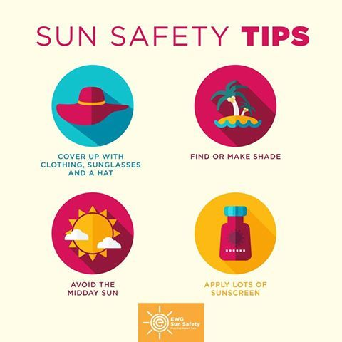 Sun Safety Tips | Kids are extra vulnerable to sun damage and just 1 or 2 blistering sunburns in childhood can double your chances of developing skin cancer in your life. So, make sure you and your family are practicing these sun safety tips every time you enjoy the outdoors.