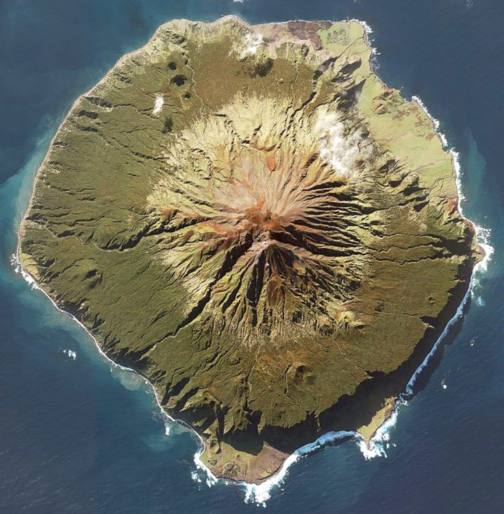 The most remote island in the world: Tristan da Cunha, Saint Helena.