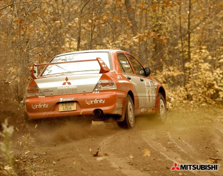 Rally Racing    mitsubishi rally