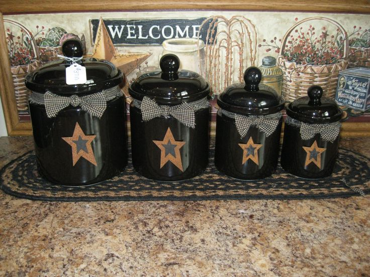primitive kitchen canisters 25 best ideas about primitive canisters on 14637