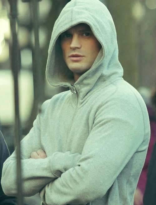 Work that hoodie! ::Fifty Shades Of Grey Movie::