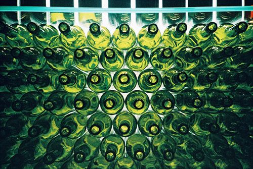 Some detail of our wine sales shop by Conny Eisfeld from #Lomoherz.