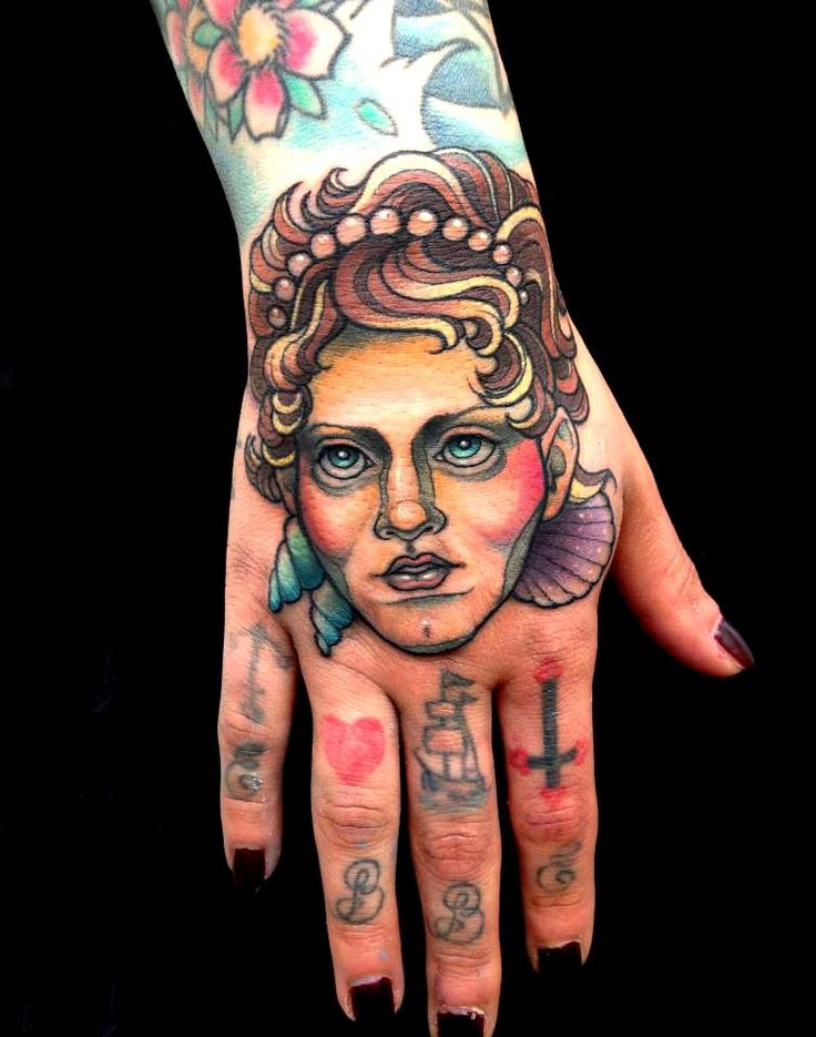 60 Girl Hands Tattoo #girl #tattoo #hand #finger