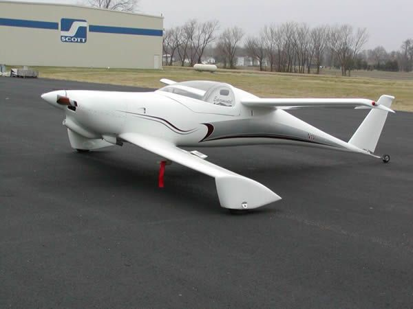 Burt Rutan Q-200 - I had the experience to fuel several of his earlier designs back in the mid 70's in Newton Kansas