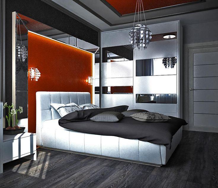 Дизайн интерьера квартиры Интерьер спальни