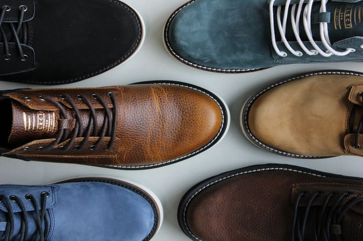 ELECT materials on display // ELECT Footwear - Our Shoes // #electfootwear #leather #mens #shoes #sneakers #hightops #boots #desertboots