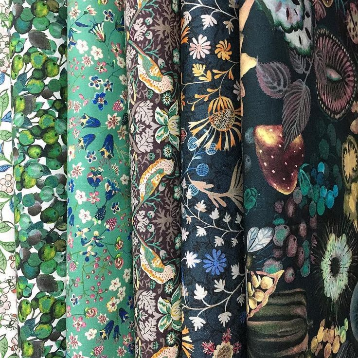 Beautiful new Liberty delivery includes some fabulous new seasonal prints. #luccellomelbourne #libertyprint #tanalawn #divinetowear