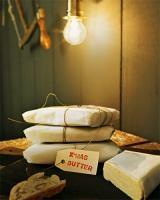 butter mit lebkuchengewürz und honig