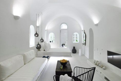 1864 The Sea Captains House Cave Suite, Oia, 2015 - PATSIOS architecture+construction