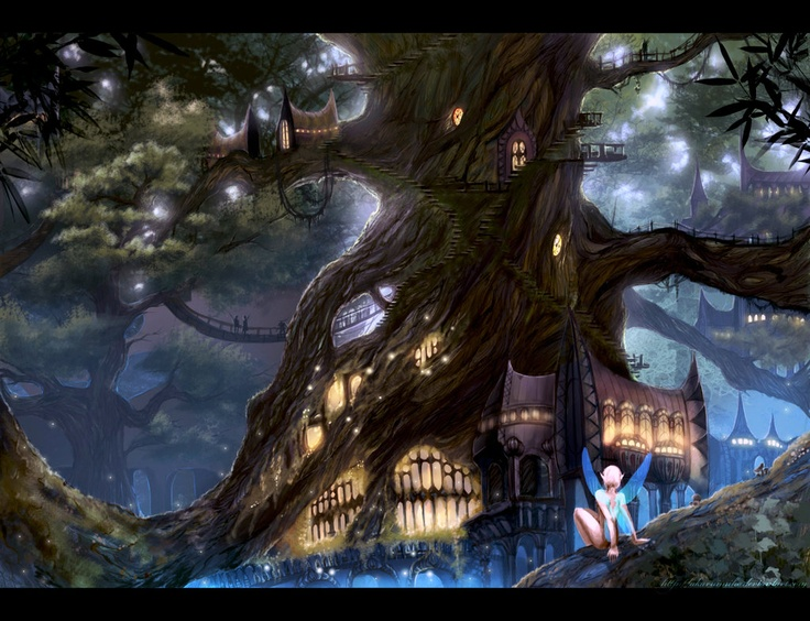 In the forest by ~AkaruiMiho on deviantART