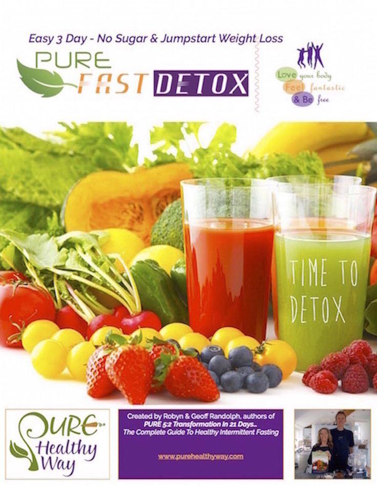 Free Webinar - 3 Day Pure Fast Detox
