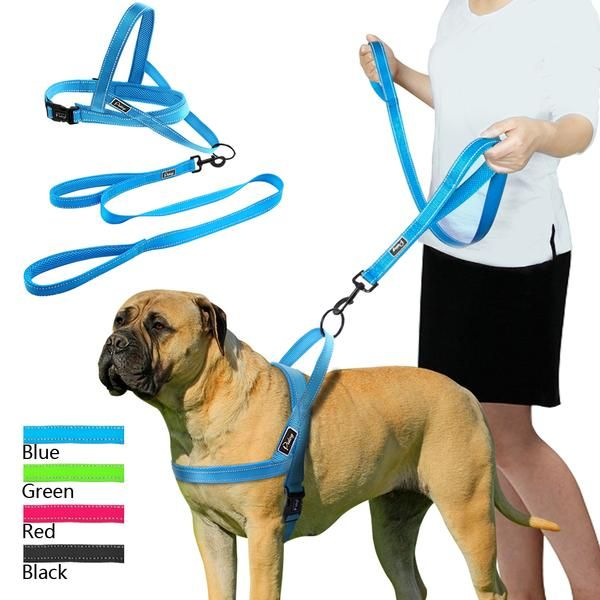 No Pull Reflective Dog Harness And Pet Vest Lead For Small Medium